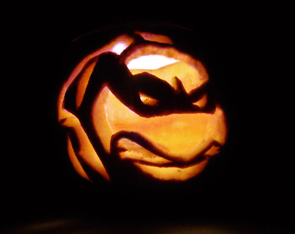 Tmnt Pumpkin Stencil Ninja Turtle Pumpkin Stencil Free Mtm