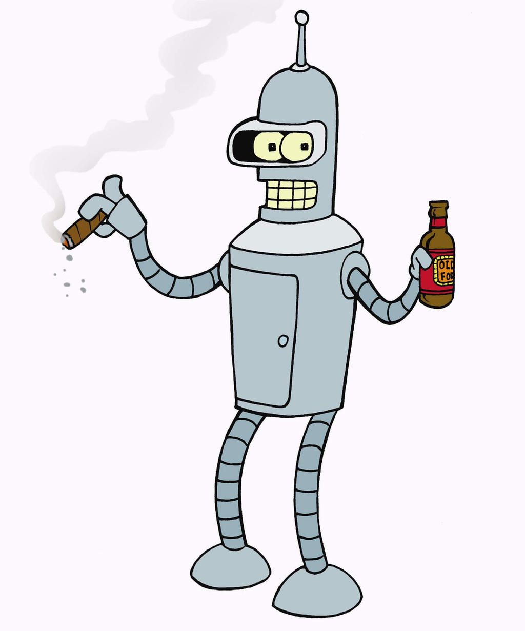 Futurama - Bender by mikedaws