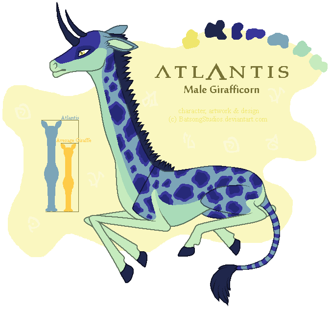 New Character Design: Atlantis