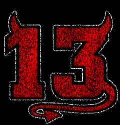 devil 13 distressed by rpursley
