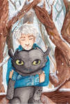 Jack Frost and Toothless