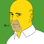 bruce willis by 81cake