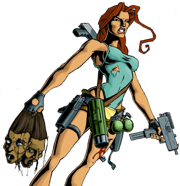 Lara Croft by SophiaLeigh3
