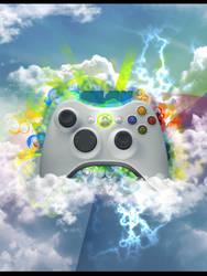 Xbox 360 by rodrigoseroiska
