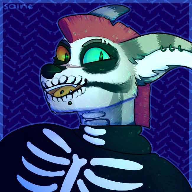 halliconcom 3/3 skeleton by Solnc