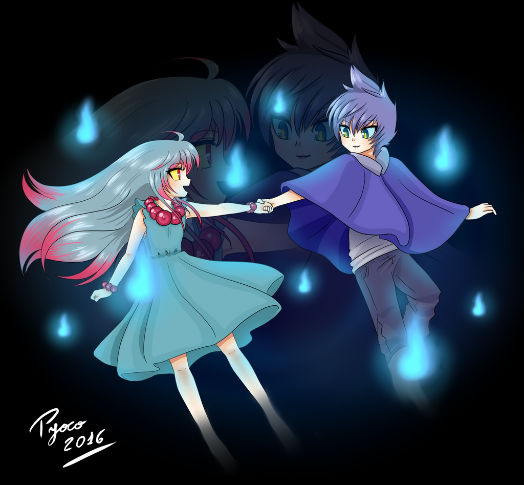 dancing with spirits {gijinka misdreavus-shuppet} by Pyoco ...