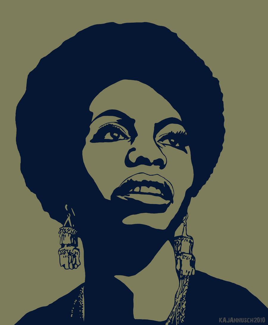 Nina Simone by WeAreThePeaceMakers