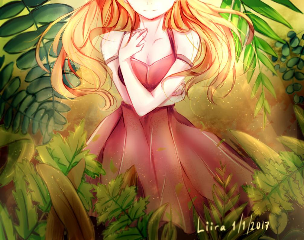 Ferns by liiradelt