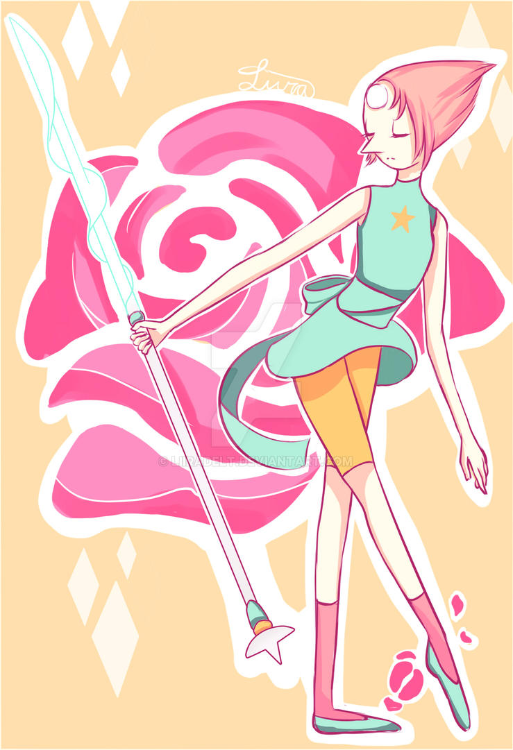 Fanart Bird Mom from SU!!! I love pearl so much. Looking forward to her new design Y_Y