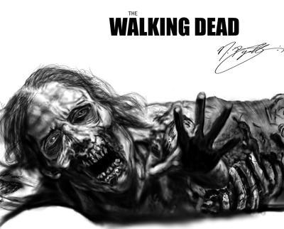 The Walking Dead Female Corpse