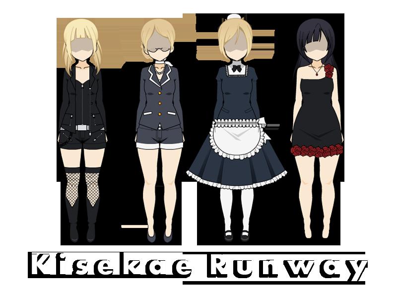 Kisekae Runway - Random Assortment #1 by Cheyenneskye