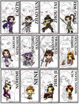 Warriors Orochi Bookmarks