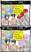 SnK: If Mikasa is a GUY