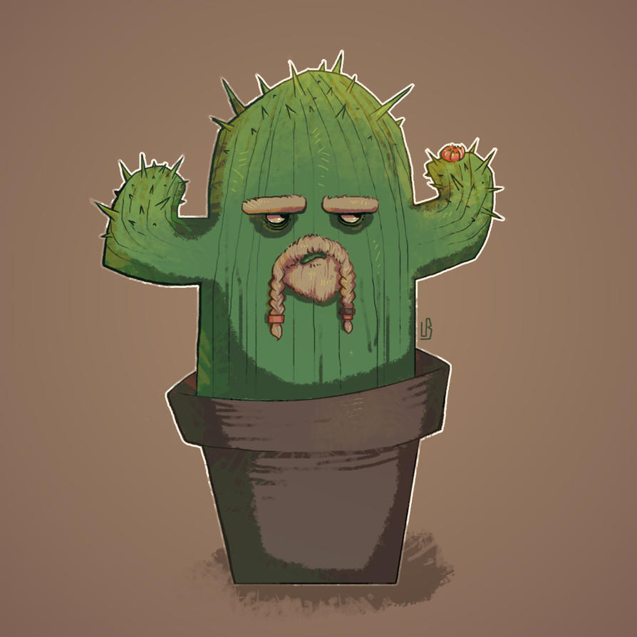 Cactus (daily challenge #2) by MouthlessMouse