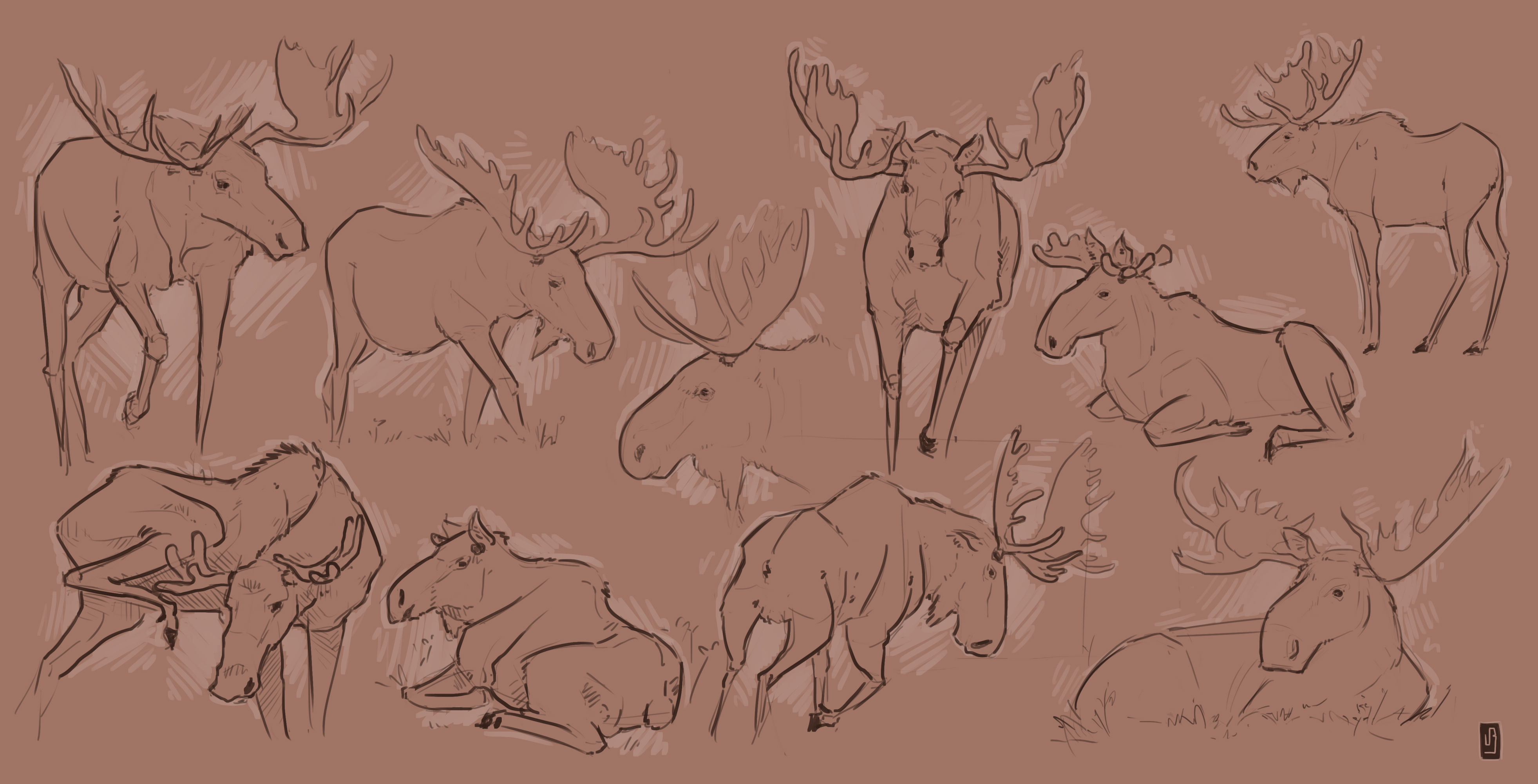Improvement Hell 17 - Mooses. meese?? by MouthlessMouse