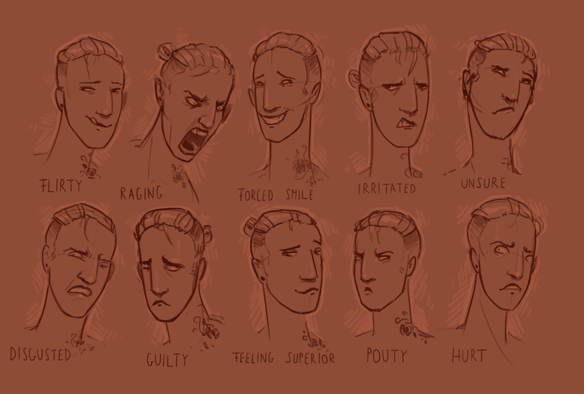 Improvement Hell 26 - Expressions by MouthlessMouse
