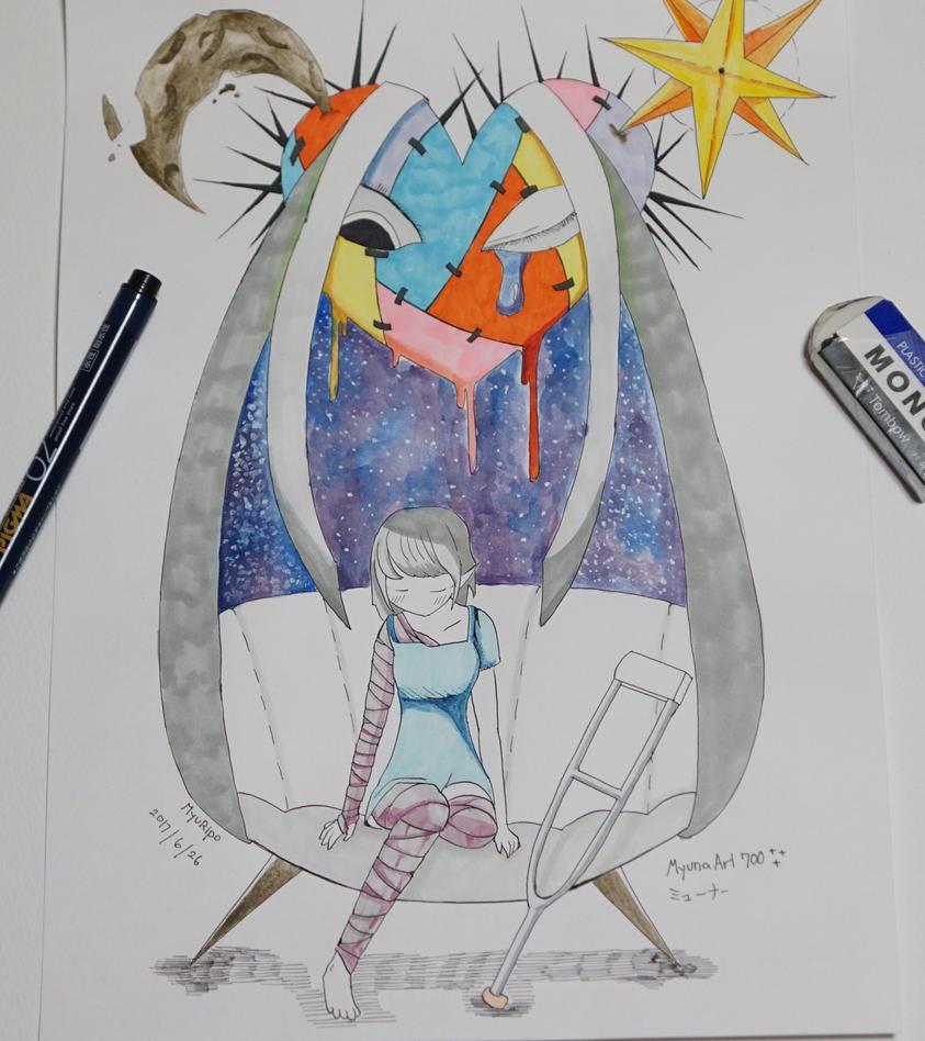 Starlight Gaze by MyunaArt700