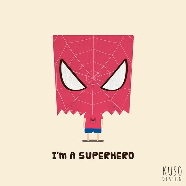 SUPERHERO4 by kusodesign