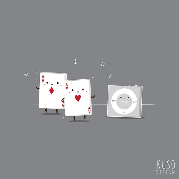 Shuffle by kusodesign