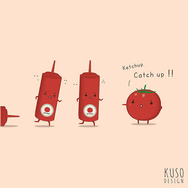 Ketchup by kusodesign