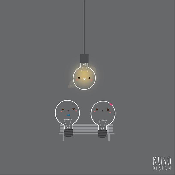Light Bulb by kusodesign