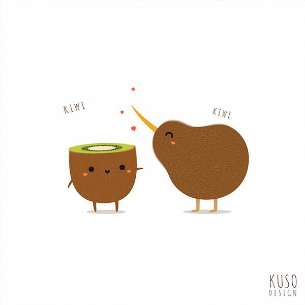 Kiwi by kusodesign