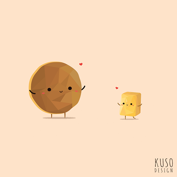 Pancake and Butter by kusodesign
