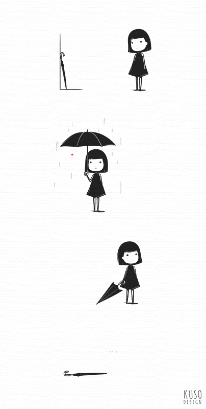 Umbrella by kusodesign