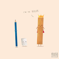 Ruler by kusodesign