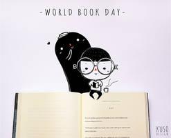 World Book Day by kusodesign