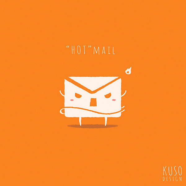 Hotmail by kusodesign