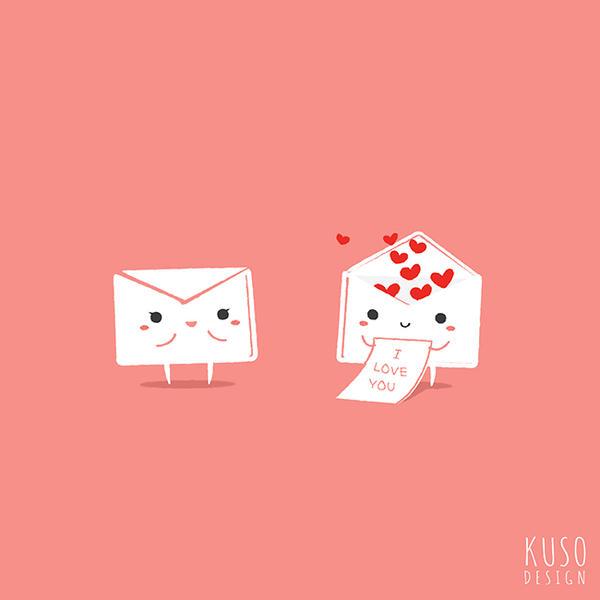 Love Letter by kusodesign