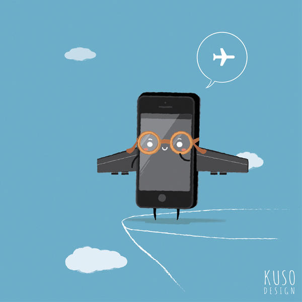 Airplane mode by kusodesign
