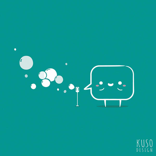 Speech Bubble by kusodesign