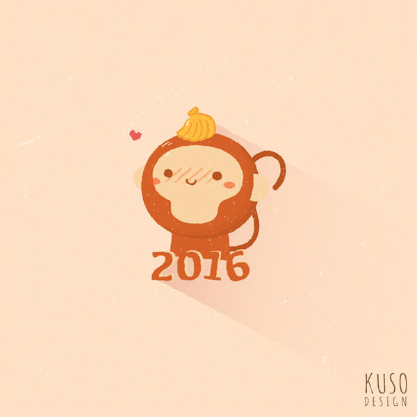 Happy 2016 by kusodesign