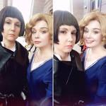 Goldstein sisters by sauronushka
