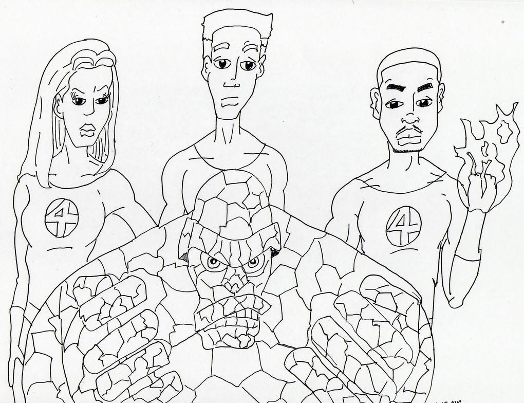 Fantastic Four Movie version by skyvolt2000