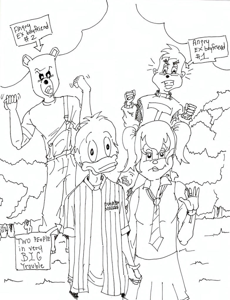 Henson High Dewey and jealous exs by skyvolt2000