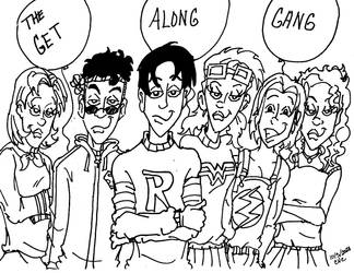 Young Justice version of The Get Along Gang