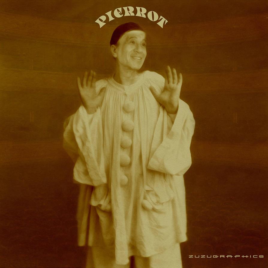 Juan Villarreal as Pierrot by zuzugraphics
