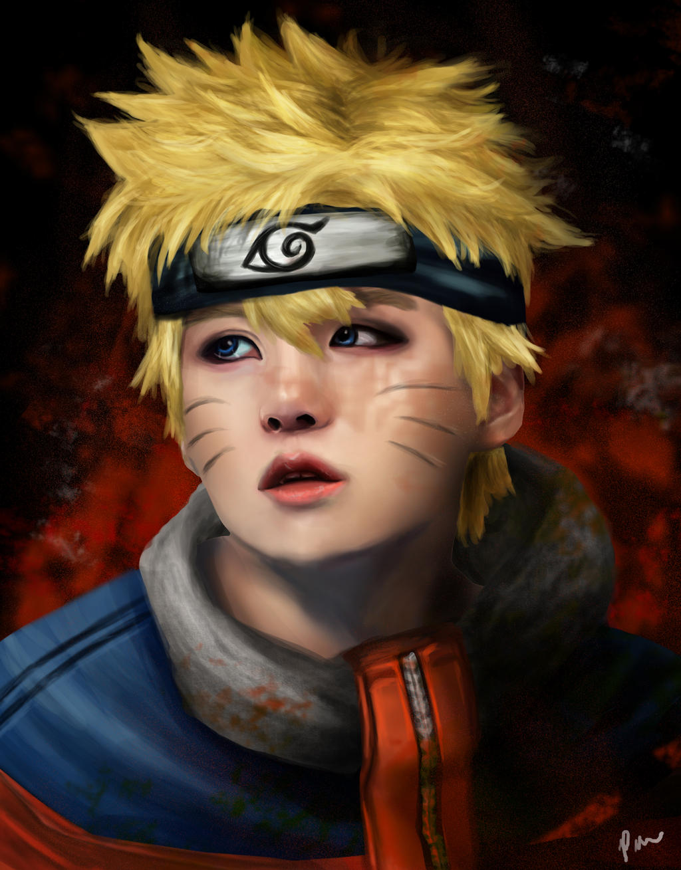 Yoongi x Naruto FA by pickiipack on DeviantArt