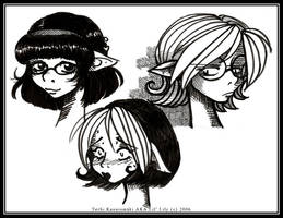Miranda, Felicia and Alex