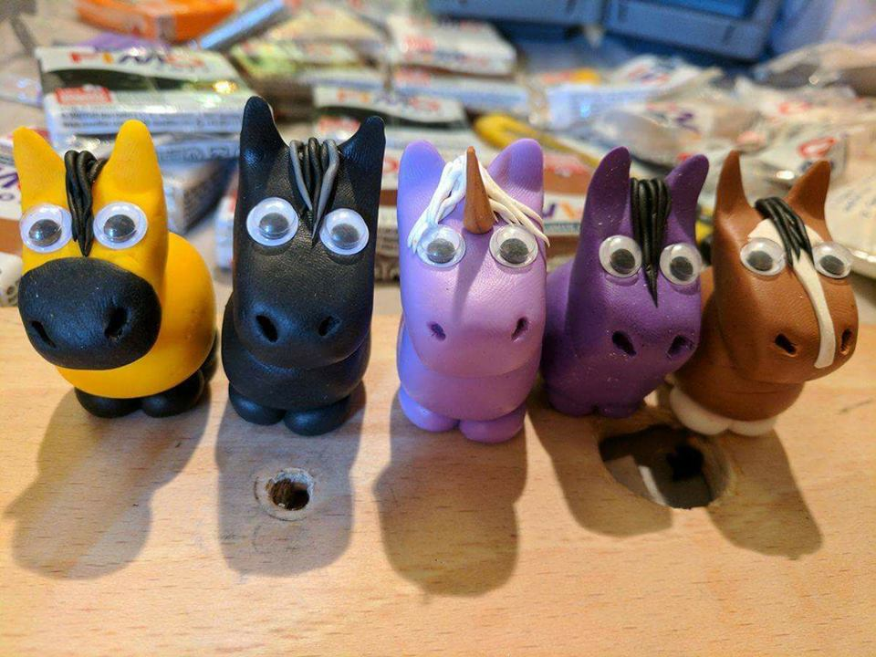 Clay Equines! by courtneyj120