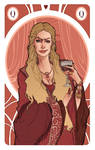 Game of Thrones' cards | Queen Cersei Lannister