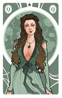 Game of Thrones' cards | Queen Margaery Tyrell by SimonaBonafiniDA
