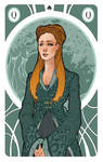 Game of Thrones' Cards | Queen Sansa Stark