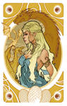 Game of Thrones' cards | Daenerys Targaryen