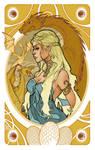 Game of Thrones' cards | Daenerys Targaryen