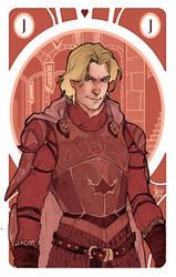 Game of Thrones' cards | Jack Jaime Lannister by SimonaBonafiniDA