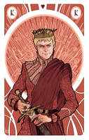 Game of Thrones' cards | King Joffrey Baratheon by SimonaBonafiniDA
